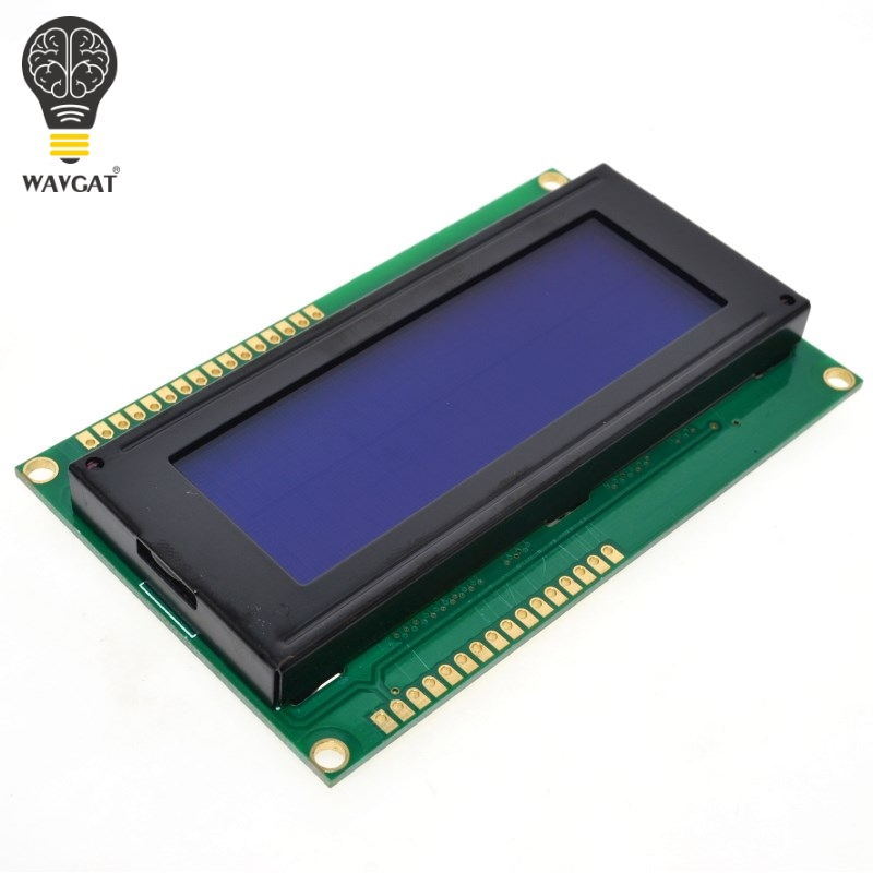 Free Shipping LCD Board 2004 20*4 LCD 20X4 5V Blue Screen LCD2004 Display LCD Module LCD 2004 For Arduino