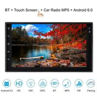 2 Din 7 Inches Car Radio Android 6.0 Autoradio Rear View Camera Car Stereo Player GPS Tracker Navigator Car Multimedia Player