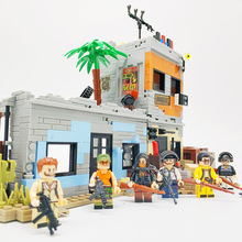 SWAT PUBG Figures Plants Accessories  Block Army Soldier Weapon Building Blocks LegoINGlys City House Model Block Military Block