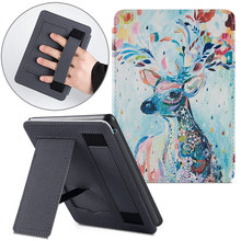 Купить с кэшбэком AROITA Smart Cover for New Kindle Paperwhite 4 (10th Generation-2018 Release) e-Books, Handheld Stand Portable PU Leather Case