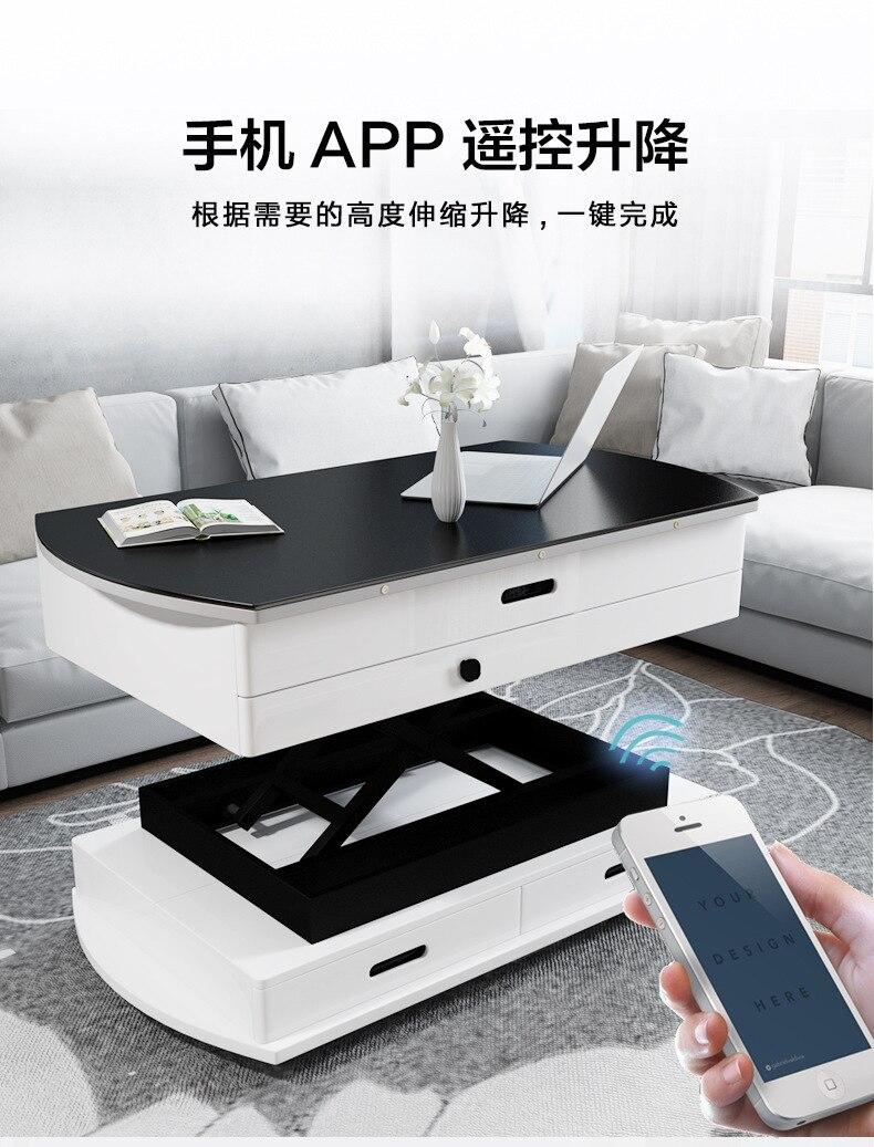 lowerable electric mesas de