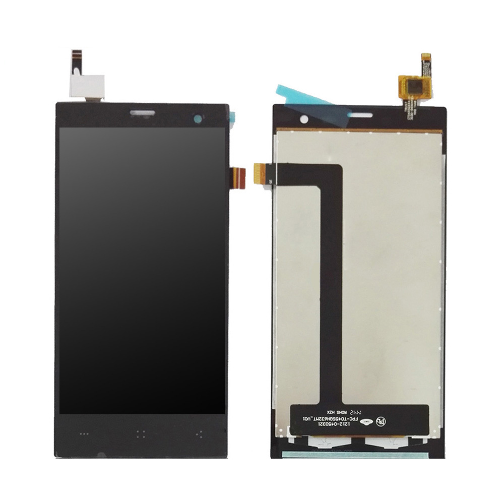 <font><b>4.5</b></font> <font><b>inch</b></font> For Highscreen Zera S Rev.S <font><b>LCD</b></font> Display <font><b>With</b></font> <font><b>Touch</b></font> Screen Digitizer Assembly Free Shipping image