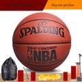 Оригинал баскетбольный мяч 74-655y/74-604y/74-602y НОВЫЙ Бренд Высокое Качество Подлинная PU Материал Официальный Size7Basketball