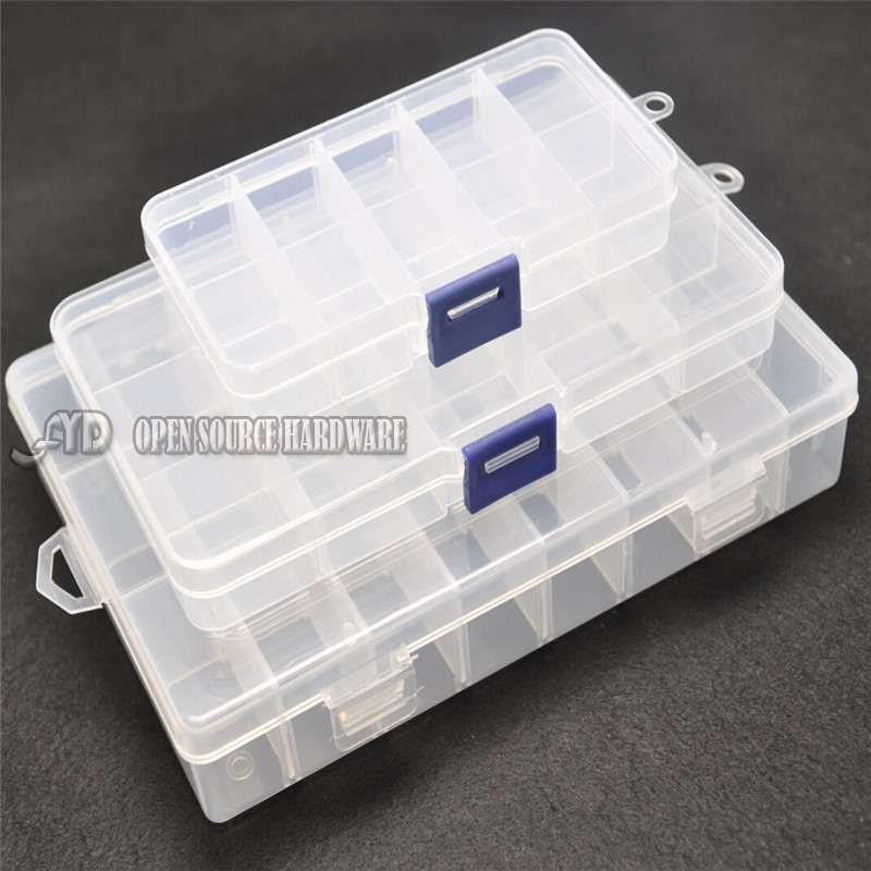 DIY Kit Case Part Components IC Tool Storage Screw Box