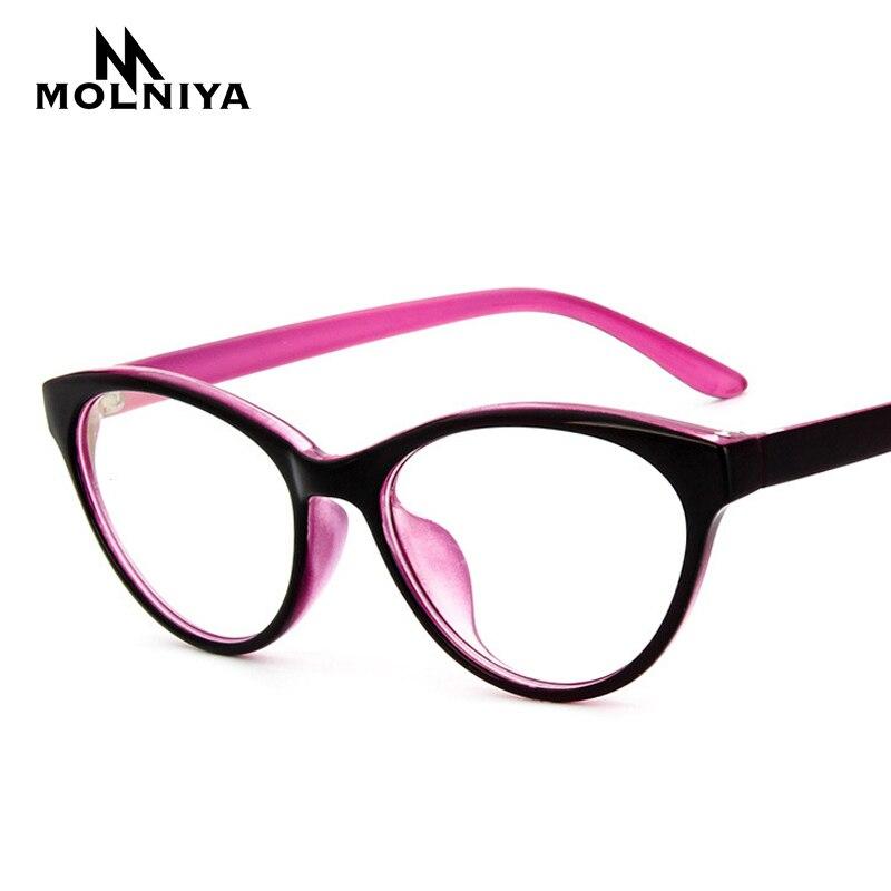 MOLNIYA Mode Frauen Myopie Augenglasrahmen Katzenauge Optische ...