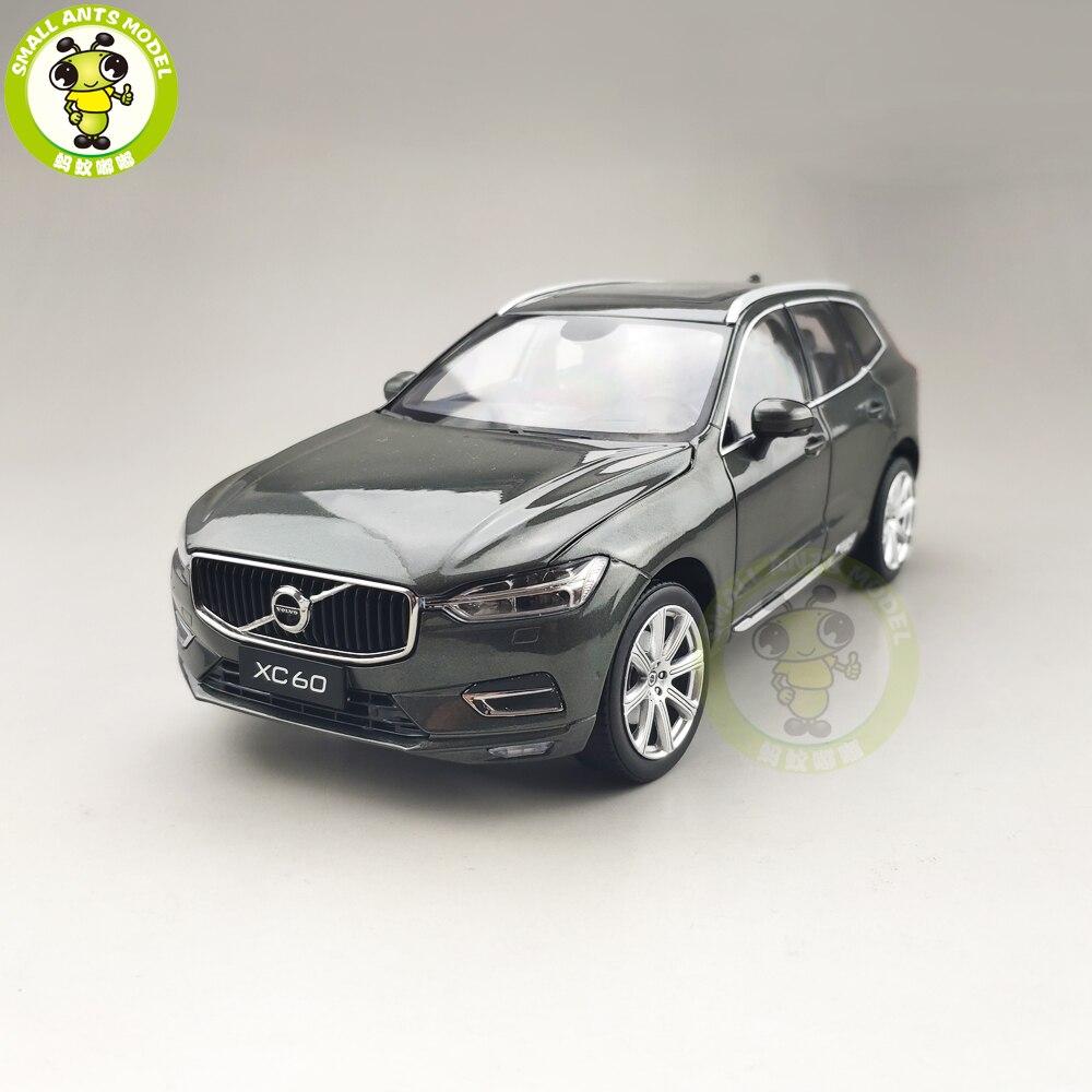 1/18 nouveau Volvo XC60 version de luxe SUV moulé sous pression en métal modèle voiture SUV jouets garçon fille cadeau Collection de loisirs-in Jouets véhicules from Jeux et loisirs    1