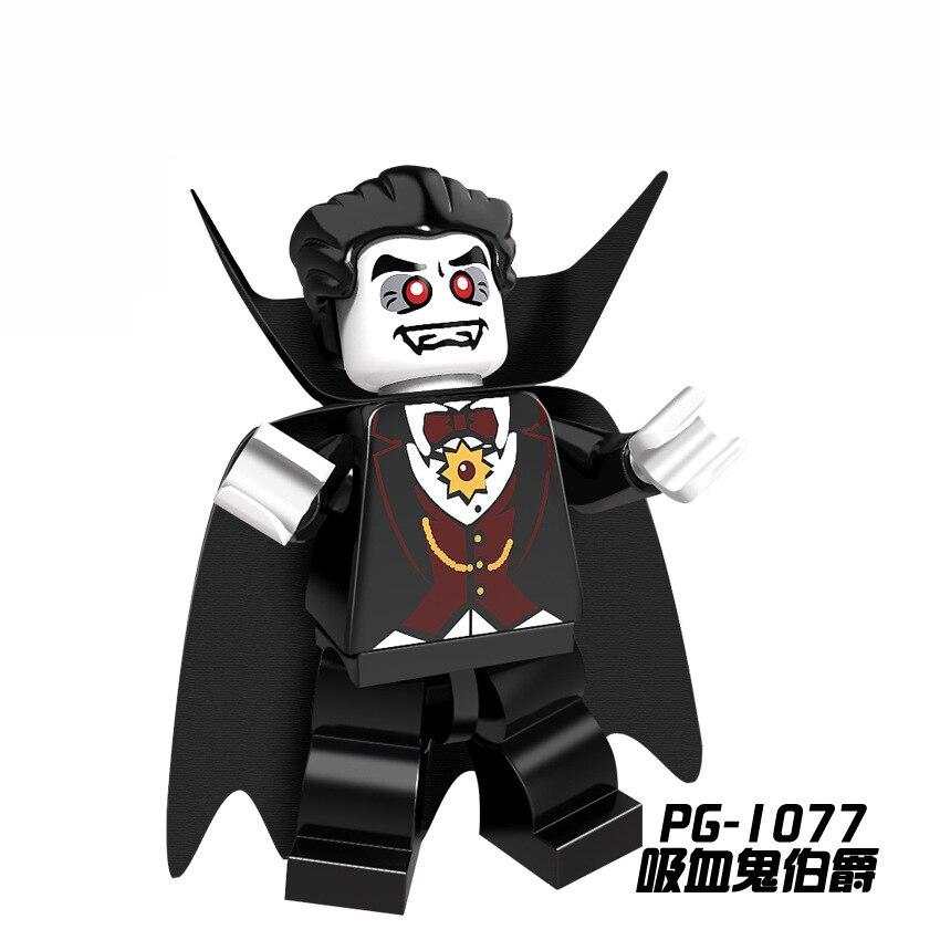 For Legoing Single Sale Tthe Horror Theme Movie Heroes Ghost Halloween Monster Warrior Jason Building Blocks Children Gift Toys #6