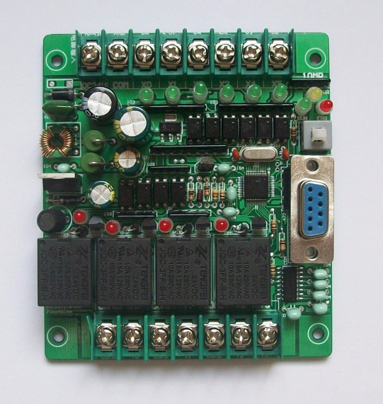 Fast Free Ship PLC Industrial Control Board MCU Control Panel Programmable Controller FX1N-10MR SRD24VDC PLC