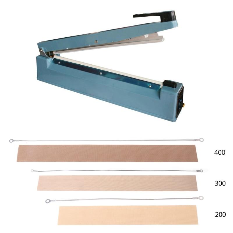 200/300/400mm Impulse Sealer Heat Wire Element Strip Sealing Machine Dreamed %328&313
