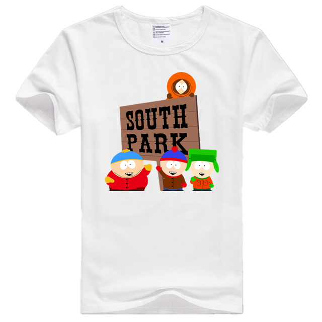 Asian Size Men And Women Print South Park Cartoon Who Is The Coon T-shirt O-Neck Short Sleeve Polyester T-shirt HCP707 2