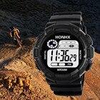 2018 Men sport watch Luxury Men Analog Digital Military Army Sport LED Waterproof Wrist Watch A70 sport watch waterproof men