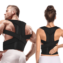 Magnetic Therapy Adjustable Posture Corrector Brace Shoulder Back Support Belt for Men Women Braces & Supports
