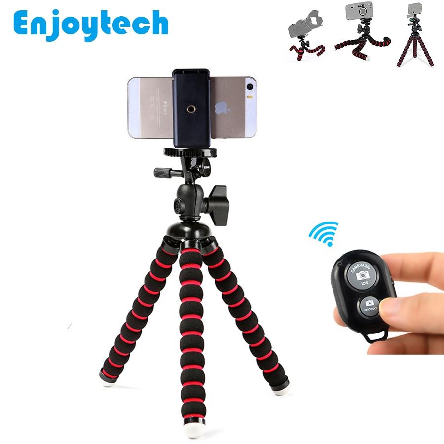 Mini trípode flexible del pulpo con el telecontrol de Bluetooth para - Cámara y foto