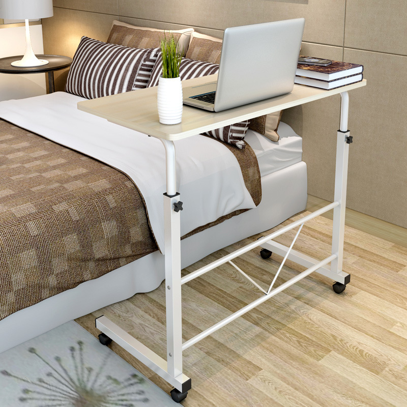 Fashion simple notebook computer desk household bed table mobile lifting lazy bedside table office desk free shipping цена