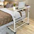 Fashion simple notebook computer desk  household bed table mobile lifting lazy bedside table office desk free shipping