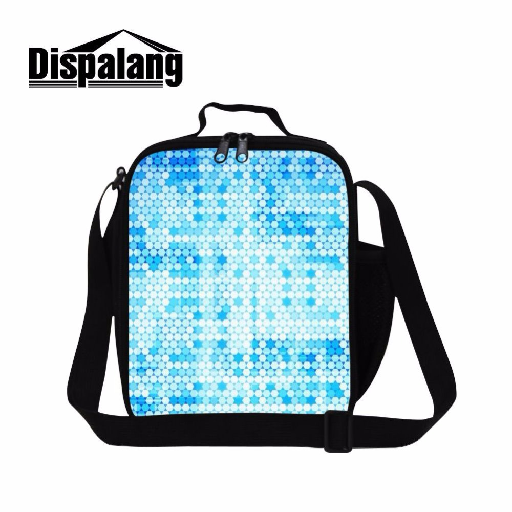 Dispalang Kids Lunchbags Food Lunch Bags Tote With Zipper Various Polka Dot Picnic Bags For Boys And Girls Bento Lunch Pouch