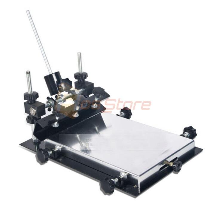 Manual solder paste printer PCB SMT stencil printer M size 440x320mm fast ship
