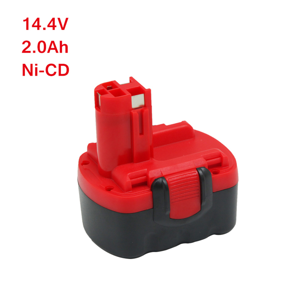 Wilderness  Rechargeable battery 14.4v 2.0AH Ni-Cd Battery for Bosch BAT038 BAT140 BAT159 BAT040 BAT041Wilderness  Rechargeable battery 14.4v 2.0AH Ni-Cd Battery for Bosch BAT038 BAT140 BAT159 BAT040 BAT041