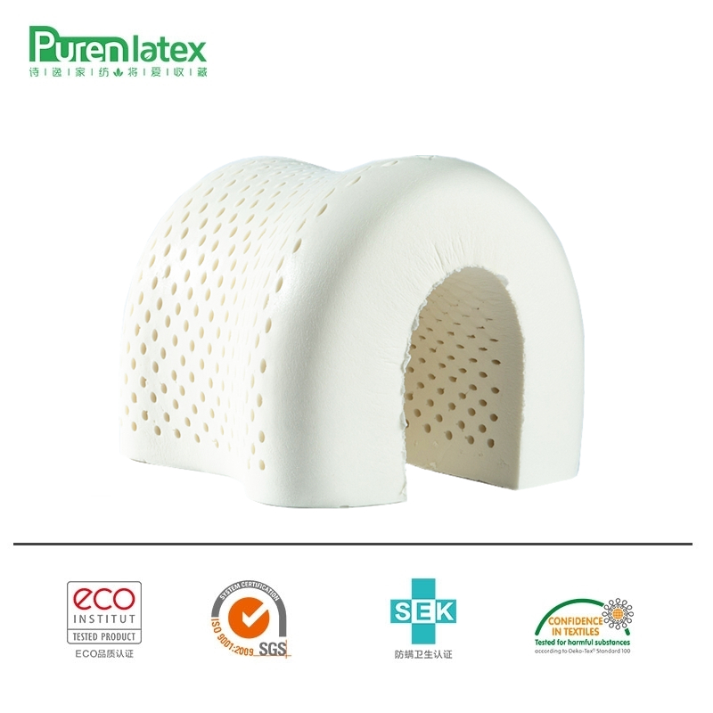 PurenLatex 60x40 thailandia naturale puro lattice cuscino assistenza sanitaria collo per collo colonna protettiva cuscino in lattice cuscino ortopedico