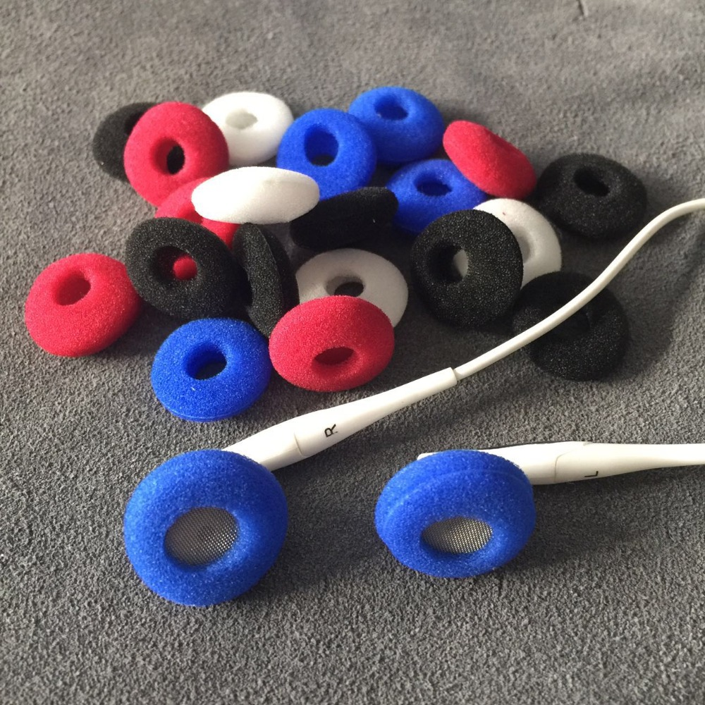 10pairs Foam Ear Pads For Earphones Sponge Bluetooth Earphone Replacement Headphones Earpads Headphone Covers Eartips earbuds