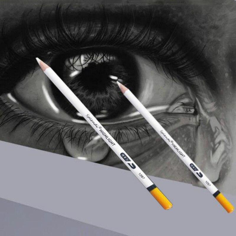 Creative Pen High-light Erasers Professional Sketch Pencil Art Rubber Drawing Eraser Pens Rubber Pen Art Supplies
