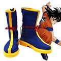 Anime Dragon Ball Son Goku Cosplay Halloween Party Christmas Shoes Boots Por Encargo