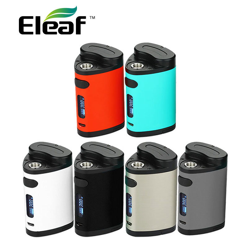Original 200W Eleaf Pico Dual TC Box Mod Vape VW/TC Mode electronic cigarette TC Box MOD no 18650 Battery istick Pico vs RX GEN3 original vapor storm storm 230 bypass 200w vw tc box mod puma mod vapes dual 18650 battery electronic cigarette vs wye 200w