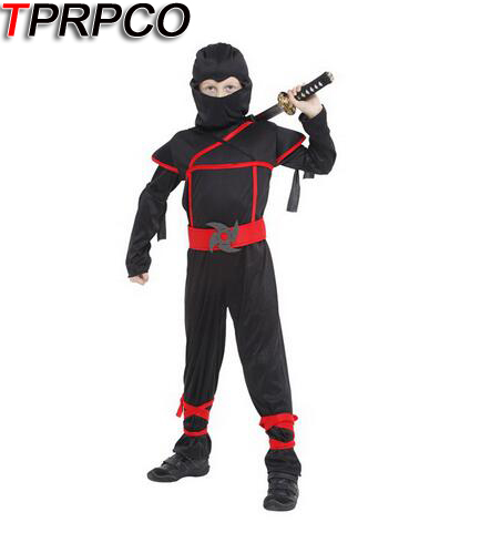TPRPCO Classic Halloween Costumes Cosplay ninja Costumes for kids Fancy Party decorations supplies children N118