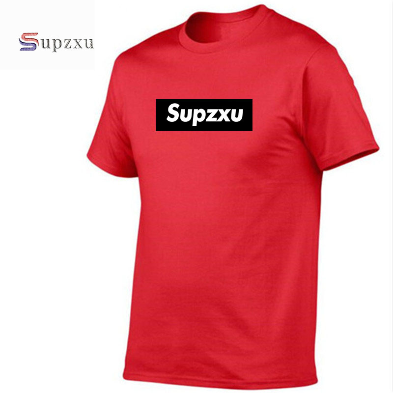 21 Supzxu Hip Hop Men T Shirt Red Opps Swag Rapper Savage Letter Print Box Logo Fashion T-Shirts Round Collar Trasher Tee Tops