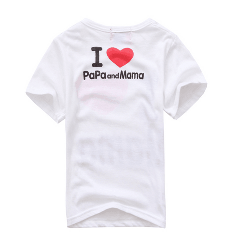 Fashion-Design-Summer-Thin-Short-Sleeve-Simple-Letter-Love-Mom-and-Dad-Baby-Cotton-Short-Sleeved-T-shirt-TST0015-4