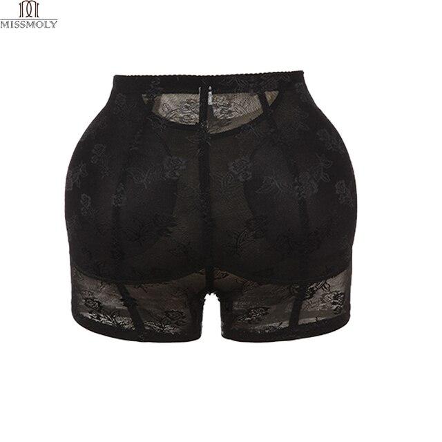 Miss Moly Invisible Butt Lifter Booty Hip Enhancer Body Shaper Padding Panty Push Up Bottom Shapewear Woman Modeling Panties