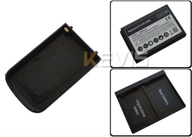 3500mAh High capacity Extended Battery + Door Cover Case For BlackBerry Bold 9900