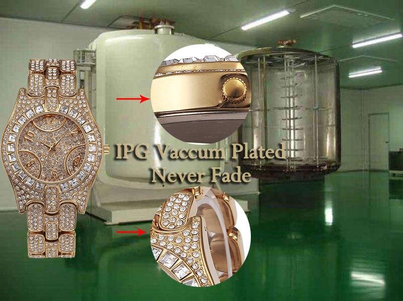 Missfox relógio feminino de quartzo, relógio de