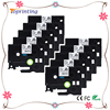 10 Pack HSe 221 Printable 2 1 Heat Shrink Tubing 8 8mm Black On White For