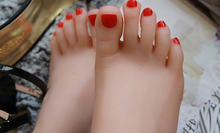 Dream Girls Feet foot whitening skin sweet toes lover model fetish,silicone feet model,foot fetish toys