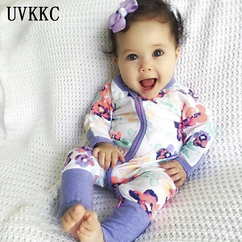 UVKKC Newborn baby rompers Children Clothing Pajamas cotton long-sleeve Boys Girls Spring Autumn Baby Clothes Roupa Infantil newborn winter autumn baby rompers baby clothing for girls boys cotton baby romper long sleeve baby girl clothing jumpsuits