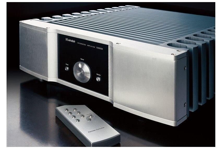 I-044 HIFI AUDIO XA6950 Integrated Amplifier / Pure power AMP RCA*4, XLR*1 100W(8ohm) Support Remote Control queenway hifi audio a06 integrated amplifier high end power amplifier amp support remote control 80w 8ohms