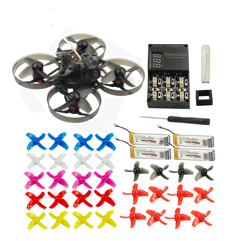 <font><b>Mini</b></font> Mobula 7 75mm Crazybee F4 Pro OSD 2S Bwhoop <font><b>FPV</b></font> Racing <font><b>Drone</b></font> Quadcopter w/Upgrade BB2 ESC 700TVL BNF With 10Pair Propellers image