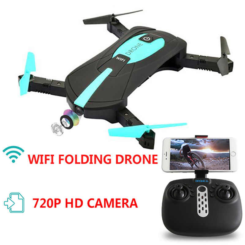 SMRC Mini drone met 720 P HD camera (kan video) RC Quadcopter WiFi FPV Mode Opvouwbare Luchtfoto vlucht afstandsbediening quadcopter