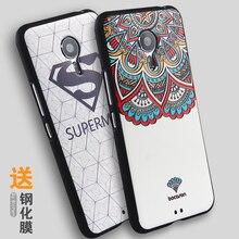Новый Meizu Pro 5 Case 3D Стерео Милосердия Картина Задняя Крышка Мягкий Силиконовый Протектор Meizu PRO5 Принципиально