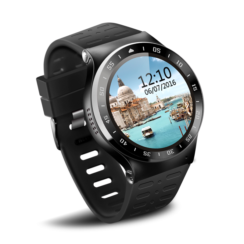 New Arrival S99A Smart Watch MTK6580 Android 5.1 OS Resolution 360*360 Support Nano Sim Card Wifi GPS Heart Rate Monitor smart baby watch q60s детские часы с gps голубые