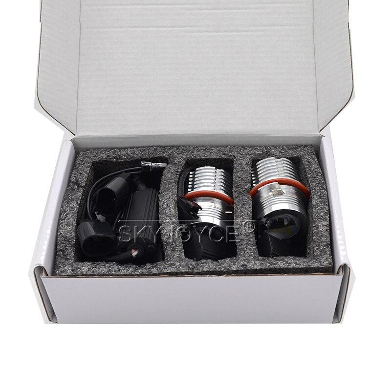 2018 High Quality 280W 160W E39 LED Marker Kit 80W LED Chips DRL 6500K White For E63 E65 E53 E83 E87 X3 X5 LED Angel Eyes E60 (6)