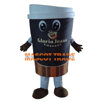 High Quality Coffee Cup Adult Plush Mascot Costume For Festive & Party Supplies Disfraces Fancy Dress Anime Cosplay