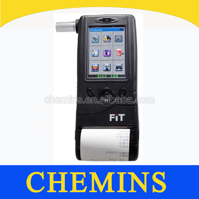 Electrochemical fuel cell alcohol tester
