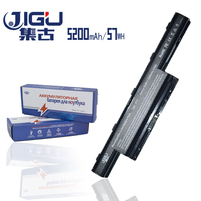 JIGU 5200mAH Laptop Battery For Acer 934T2078F AS10D AS10D31 AS10D3E AS10D41 AS10D51 AS10D61 AS10D71 AS10D73 AS10D75 E732 ...