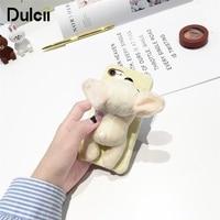 DULCII Cute Dog Phone Case For IPhone X 8 7 Plus 7 8 6 6s Plus