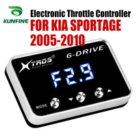 Car Electronic Throttle Controller Racing Accelerator Potent Booster For KIA SPORTAGE 2005 2010 Tuning Parts Accessory