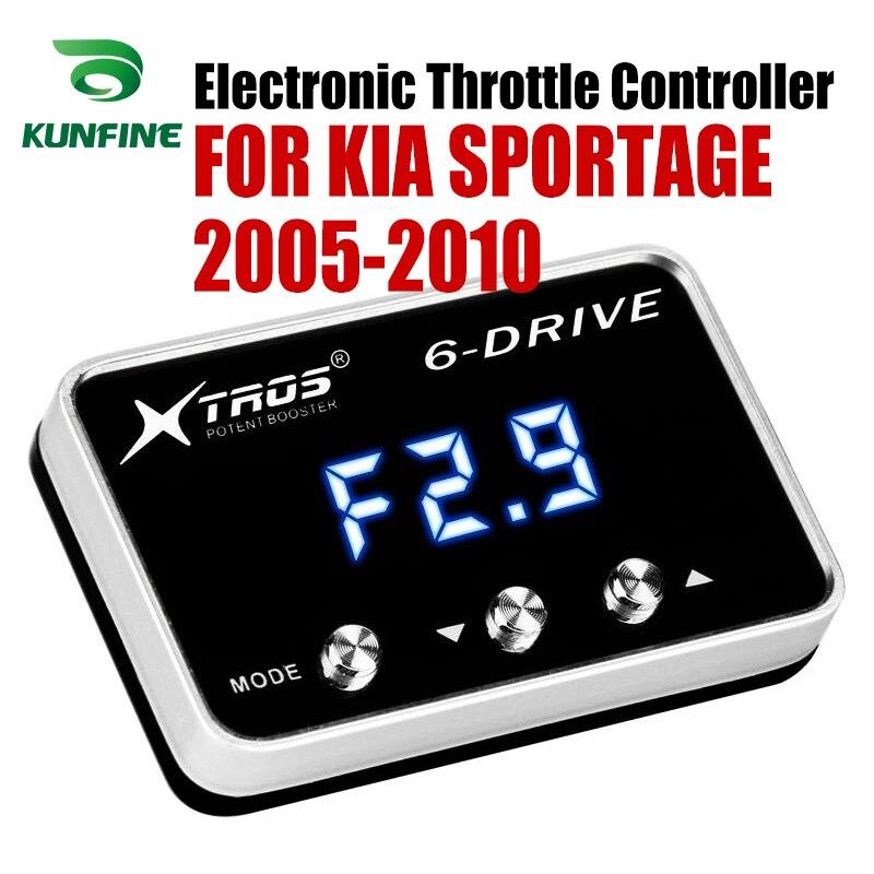 Potente Reforço Acelerador Acelerador Eletrônico velocidade do carro Controlador de Corrida Para KIA SPORTAGE 2005-2010 Peças Tuning Acessório