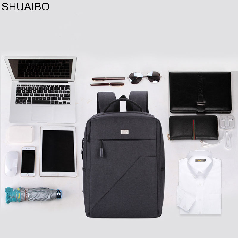 цена на 15.6 inch Laptop Backpack USB Charging Anti Theft Backpack Men Travel Backpack Waterproof School Bag Male Mochila bookbag