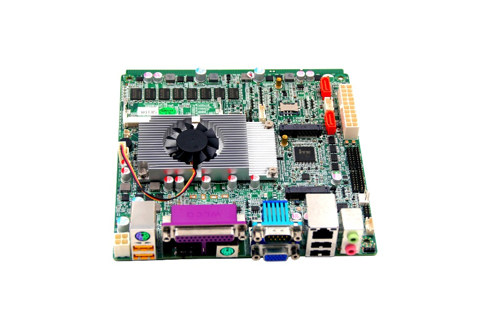 Mini ITX motherboard NM70 chipset  Celeron 1037U CPU Mainboard with onboard 2GB RAM/2 COMS lga1155 cpu motherboard with intel h61 chipset 3 sata 2 0